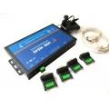 USR-N540 Industrial 4-port RS-232/422/485 Serial to IP Converter