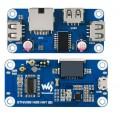 RTL8152B  Based Ethernet / USB HUB HAT (B) for Raspberry Pi Zero, 1x RJ45, 3x USB 2.0