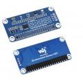Environment Sensor HAT for Raspberry Pi, I2C Bus, Onboard TSL25911FN + BME280 + ICM20948 + LTR390-UV-1 +  SGP40
