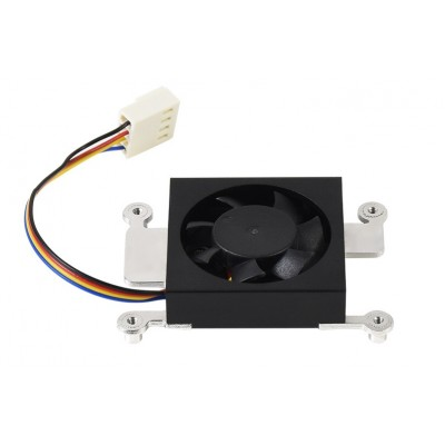 Dedicated 3007 Cooling Fan for Raspberry Pi Compute Module 4 CM4, Low Noise, PWM Control, Thermal Tape Included