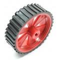 Wheel for BO Motor - 7cm Dia, 2cm Width - D Shape Hole