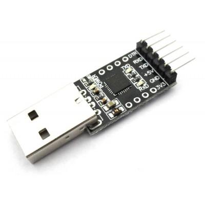 CP2102 based USB to UART TTL Converter Module - 6 Pin