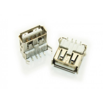USB Connector Type A - Female - PCB Mount