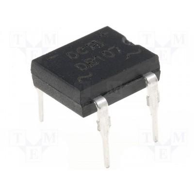 DB107 - 1A Bridge Rectifier Module - 4 Pin DIP - PIV 1000V