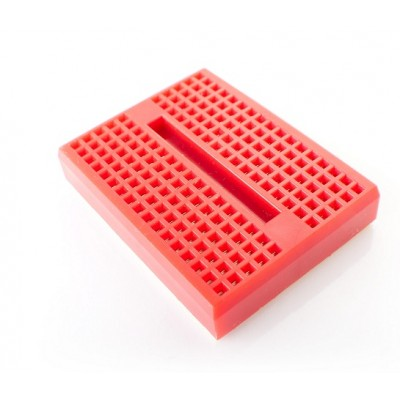 170 Tie Points - Mini Solderless Breadboard SYB-170 - Self Adhesive - RED