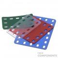 Flat Flexible Plastic Sheet - Set of 4