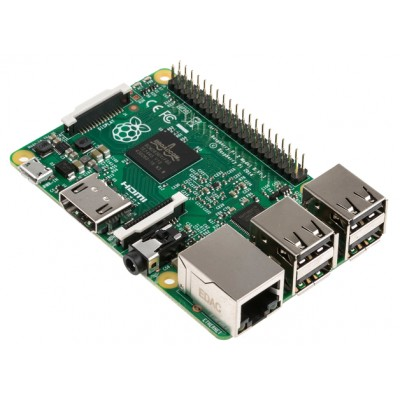 Raspberry Pi 2 Model B - 1 GB RAM - Quad Core ARM Cortex A7 CPU - Free Shipping