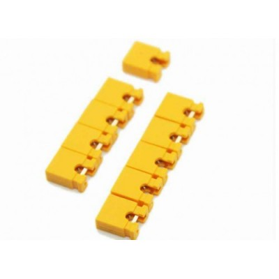 2 Pin Shunt - 2.54mm Pitch - Jumper Cap - Yellow Color