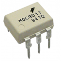 MOC3011 - 6 Pin DIP - Optoisolator - TRIAC Driver Output - Fairchild Semi