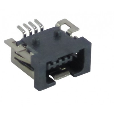 USB Connector 4 Pin Mini A Type Female/ Receptacle - Surface Mount